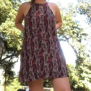 American Eagle Halter Flowy Dress